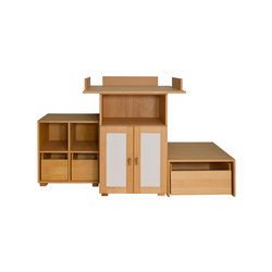 Cabinet Combination 21 | Kids storage furniture | De Breuyn