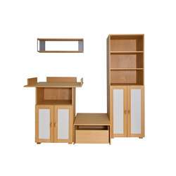 Cabinet Combination 22 | Kids storage furniture | De Breuyn