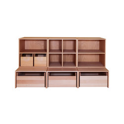Cabinet Combination 25 | Kids storage furniture | De Breuyn