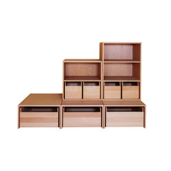 Cabinet Combination 26 | Kids storage furniture | De Breuyn