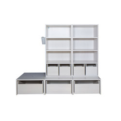 Cabinet Combination 30 | Kids storage furniture | De Breuyn