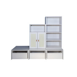 Cabinet Combination 31 | Kids storage furniture | De Breuyn