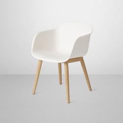 Fiber Armchair | wood base | Sedie visitatori | Muuto