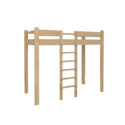 Youth Loft Bed DBB-100A | Kids beds | De Breuyn