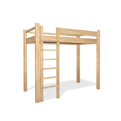 Youth Loft Bed DBB-100D | Children's beds | De Breuyn
