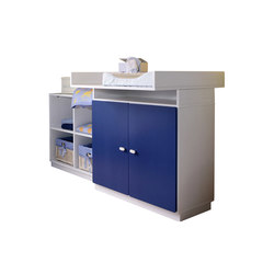 Changing Table with Shelf | Fasciatoi | De Breuyn