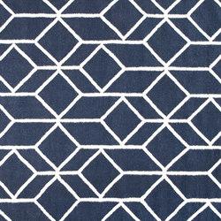 Geo Outline rug | blue | Formatteppiche / Designerteppiche | Hem