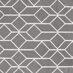 Geo Outline rug | grey | Tappeti / Tappeti d'autore | Hem