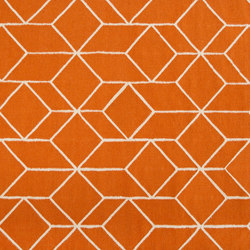Geo Outline rug | orange | Rugs / Designer rugs | Hem