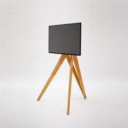 Screen Rack | Front Row | Supports/Pieds Hifi/TV | roomours Kommunikationstools