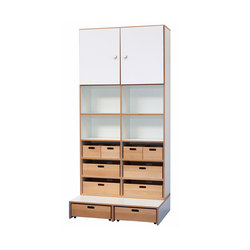 High Modul  DBF-622-2-10 | Kids storage furniture | De Breuyn