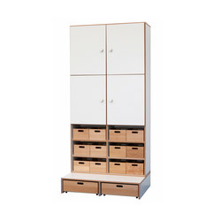 High Modul  DBF-623-1-10 | Kids storage furniture | De Breuyn