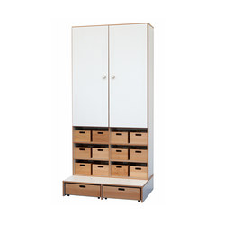 High Modul  DBF-625-1-10 | Kids storage furniture | De Breuyn