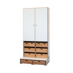 High Modul  DBF-625-2-10 | Kids storage furniture | De Breuyn
