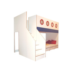 Big Bunk Bed | Children's beds | De Breuyn