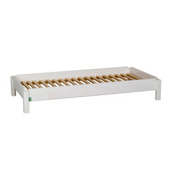 Stacking bed white  DBF-156-10 | Kids beds | De Breuyn