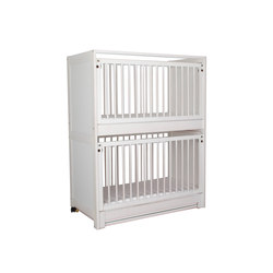 Baby-Etagenbett weiß   DBF-162-10 | Kinderbetten | De Breuyn