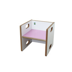 Chaise transformable – DBF-813-55 | Children's area | De Breuyn