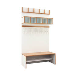 Wardrobe Furniture Modul  DBF-414 | Cloakrooms | De Breuyn