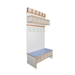 Wardrobe Furniture Modul  DBF-415 | Cloakrooms | De Breuyn