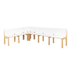 Corner Seat Complete   DBF-834 | Bancos para niños | De Breuyn