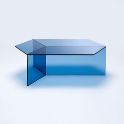 Isom Oblong - blue | Coffee tables | NEO/CRAFT
