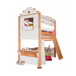 Maison high play bed | Letti infanzia | De Breuyn