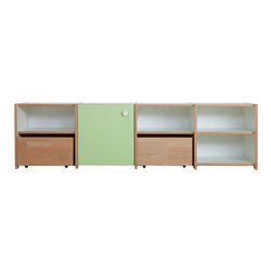 Cabinet Combination DBC-50 | Kids storage furniture | De Breuyn
