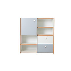 Cabinet Combination DBC-63 | Kids storage furniture | De Breuyn