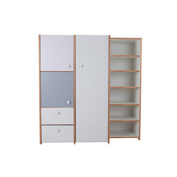 Delite – Cabinet Combination | Kids storage | De Breuyn