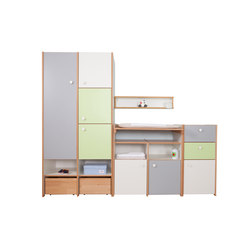 Delite – Comode-table avec armoire | Changing tables | De Breuyn