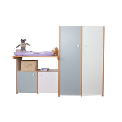 Delite – Changing Table with Wardrobe | Fasciatoi | De Breuyn