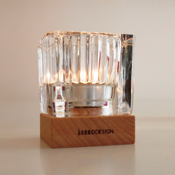 Ice Candleholder | Bougeoirs | SEEDDESIGN