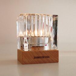 Ice Candleholder | Portacandele | SEEDDESIGN
