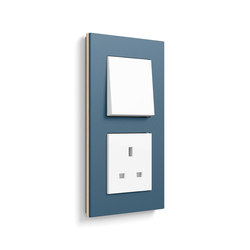 Esprit linoleum-plywood | Switch range | Push-button switches | Gira