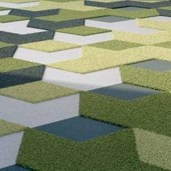 TEXtiles | Darts + Diamonds | Carpet tiles | Vorwerk
