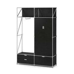 Gaderobe schwarz | Garderobenschränke | System 180