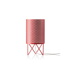 Pedrera ABC Table lamp | Red | General lighting | GUBI