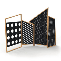 Opto Folding Screen | Space dividers | Colé