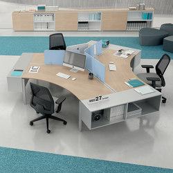 Syst mes de bureaux pour 3 personnes syst mes de bureaux for Bureau marguerite 4 personnes