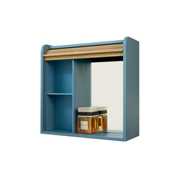 Tapparelle Hanging Cabinet, Mirror | Wall cabinets | Colé
