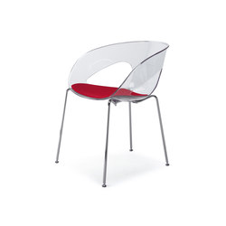 Krizia | Visitors chairs / Side chairs | Kastel