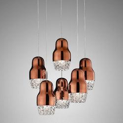 Fedora SP6 metallic bronze | Iluminación general | Axo Light