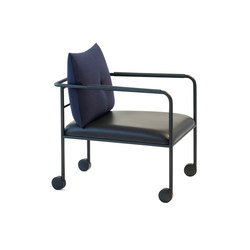 Morris Jr O651 black | Lounge chairs | Blå Station