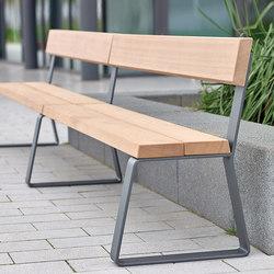Campus levis Bench extending module | Exterior benches | Westeifel Werke