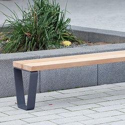 Campus levis Adapting bench 39 cm | Benches | Westeifel Werke