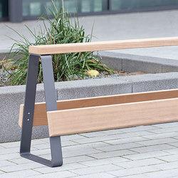Campus levis railing seat   Panche da esterno   Westeifel Werke