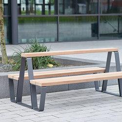Campus levis high seat combination | Benches | Westeifel Werke