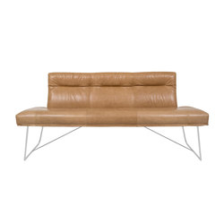 D-light Bench with Backrest | Divani lounge | KFF
