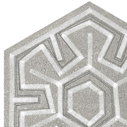 Hexagono Igneus Cemento | Floor tiles | VIVES Cerámica